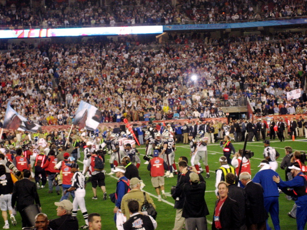 Crowd Rushing the Field